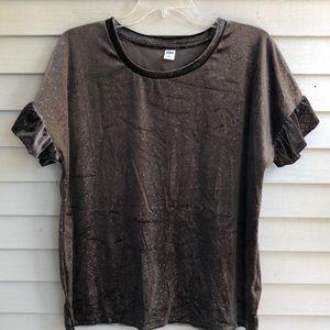 NWOT Old Navy sparkle shirt